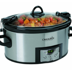 6-Quart Programmable Crock-Pot $34.30 (reg. $59.99)!
