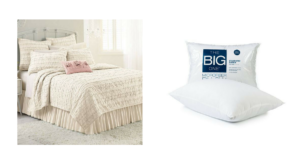 *HOT CLEARANCE DEAL* Lauren Conrad Ruffle Quilt $41.18 (reg. $169.99) + FREE Pillows!!