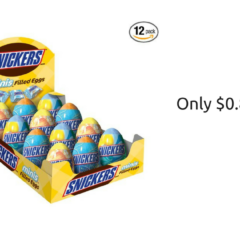 Snickers Minis Easter Eggs ONLY $0.81 SHIPPED!