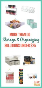 More Than 50 Storage and Organizing Solutions Under $25