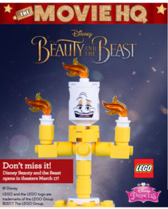 FREE LEGO Disney Lumiere at Toys R Us!