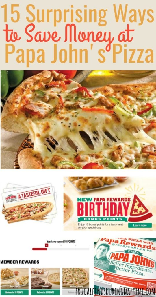 "Do you have a family pizza night? Before you hit ""order"" on that next pizza order, be sure to check out these ways to save money at Papa John's so you never have to pay full price for a pizza again! @FFDNT"