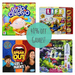 *Today Only* 40% Off Popular Games!