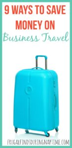 9 Ways to Save Money on Business Travel
