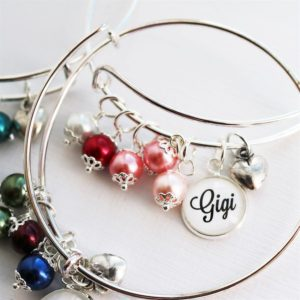Custom Birthstone Bangle Bracelets $7.99 (reg. $19.99)!