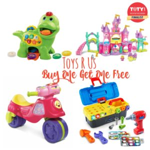 **SUPER HOT** Buy One Get One Free VTech & Fisher Price Toys!