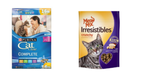Purina 16 lb. Cat Chow $8.01 + FREE Meow Mix Irresistibles Treats!