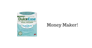 Walmart: Money Maker on DulcoEase Stool Softener