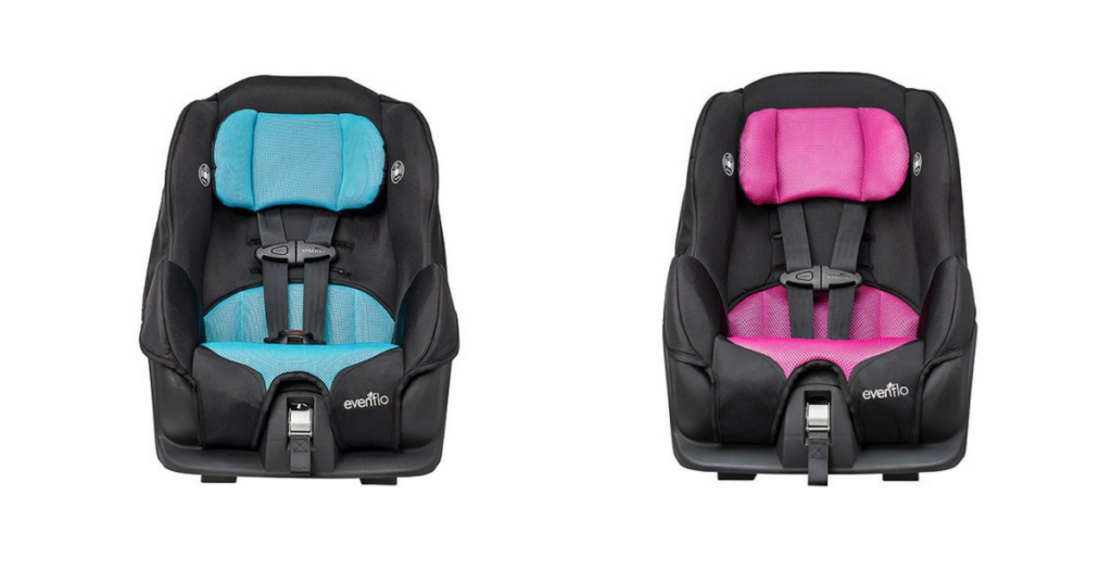 Need A New Car Seat You Can Grab An Evenflo Tribute Lx Convertible In Aail Pink For Just 41 59 Reg 94 90 Or Neptune Blue