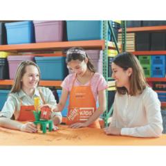FREE Build a Flower Pot Workshop at Home Depot!