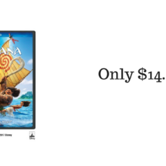 Amazon.com: Moana DVD $14.99 (reg. $29.99)