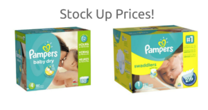 WOW! Pampers Diapers (as low as) $0.08 per Diaper!