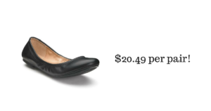 SONOMA Goods for Life Women's Leather Ballet Flats $20.49 (reg. $49.99)!