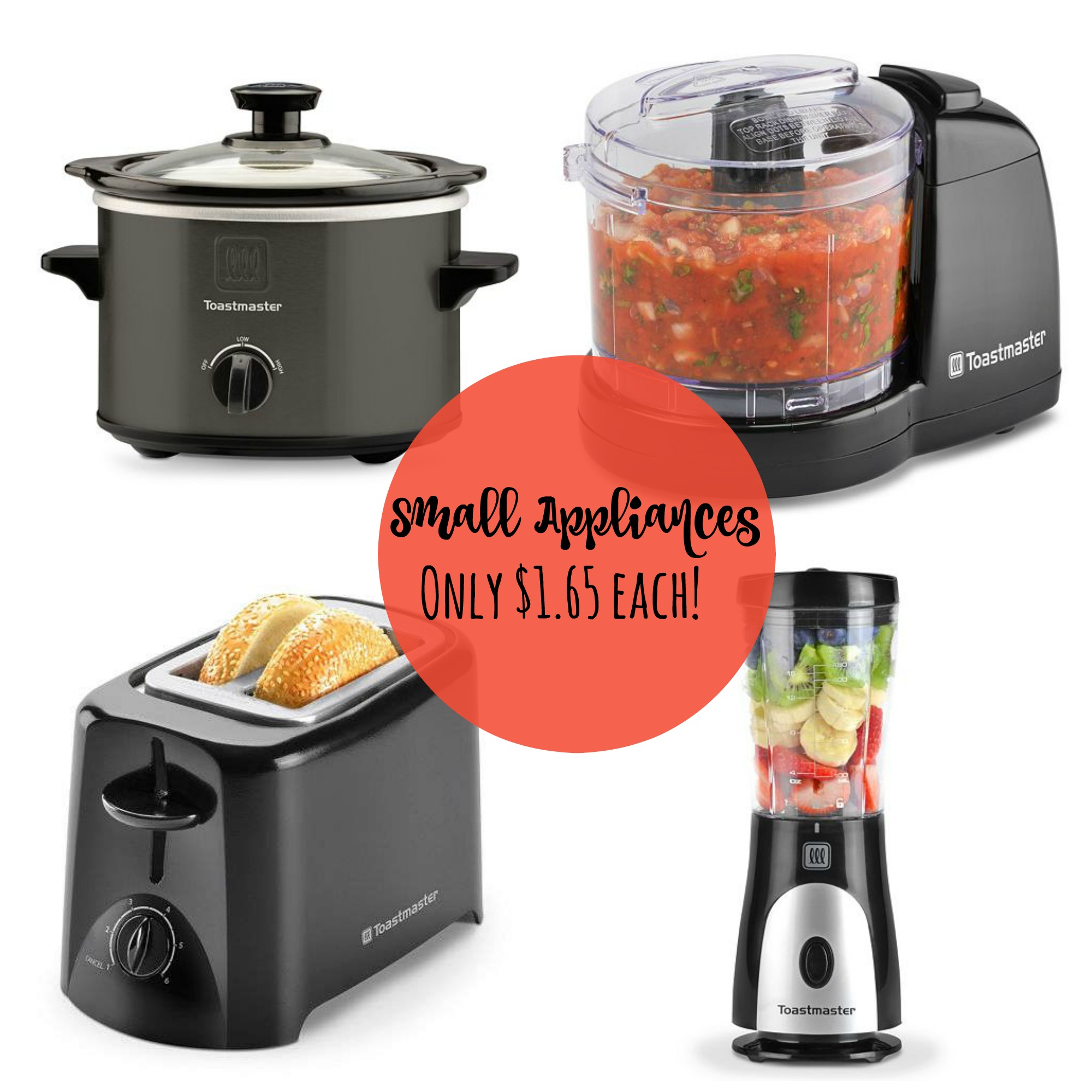 SUPER HOT** Toastmaster Appliances $1.65 {After Kohl's Cash and ...
