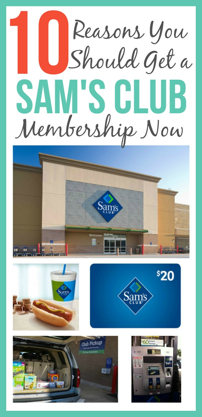 Having a Sam's Club Membership can save you time, money, and so much more! See why you should get a Sam's Club Membership.