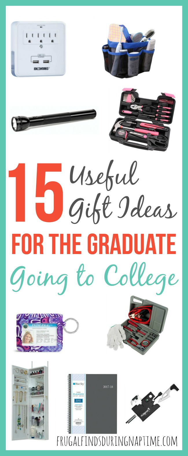 Looking for a gift for a graduate that won't collect dust and will actually be used? Check out this list of useful gift ideas for the graduate going to college.
