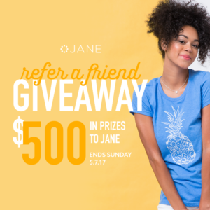 Win $50 to Spend Online at Jane for You AND A Friend!