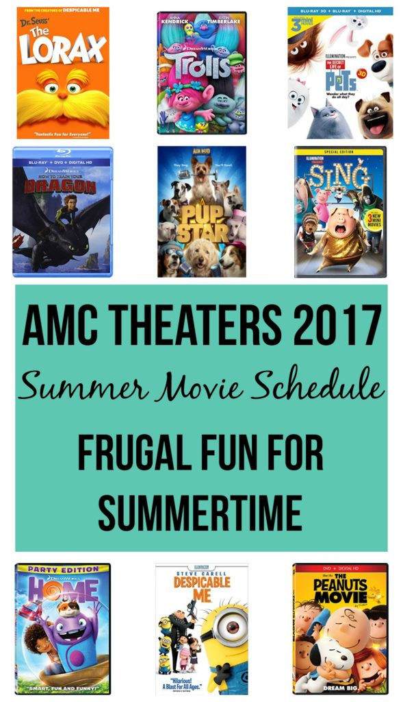 Looking for something fun to do over the summer without breaking the bank? Try the movies! Check out the AMC Theaters 2017 Movie Schedule.