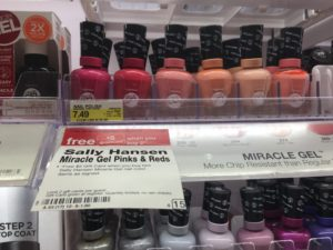 Target: Sally Hansen Gel Nail Polishes $3.16 (reg. $7.49)