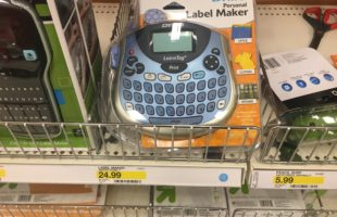 Target: Dymo Label Makers (as low as) $9.11