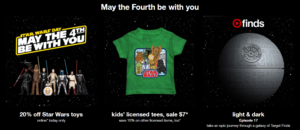 May the 4th Be With You! 20% Off Star Wars Toys (Today Only)!
