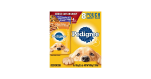 Walmart: Pedigree 8-Pouch Wet Food $2.98
