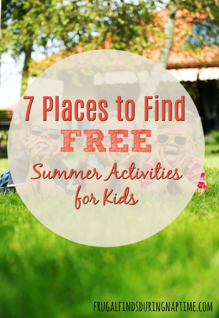 Looking to entertain kids on a tight budget this summer? Check out these 7 places to find free summer activities for kids.