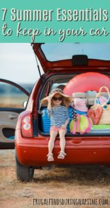 7 Summer Essentials You Should Keep in Your Car