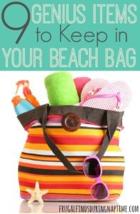 Before going on your next beach trip, check out this list of genius things to keep in your beach bag.