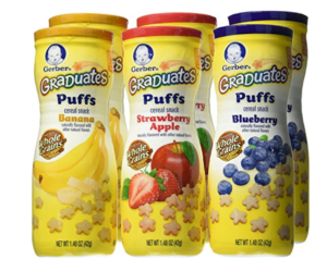 Gerber Graduates Puffs 6-Pack Only $7.87 Shipped (Just $1.31 Per Container)