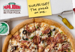 Papa Johns: 50% Off Pizza + Extra Rewards Points + Free Pizza= A Lot Of Not Cooking