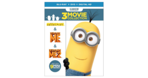 Despicable Me Collection on Blu-ray ONLY $16.99!