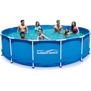 Cool Off! Summer Waves Above Ground Swimming Pool $249 (reg. $329)!