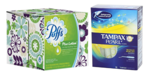 Money Maker on Tampax Tampons & Puffs Tissues at Target!