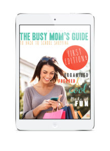 The Busy Mom's Guide to Back to School Shopping