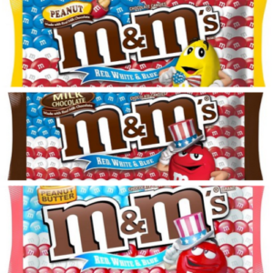 Red, White, & Blue M&M's ONLY $0.39 at Target!