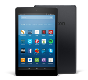 Prime Day Deal: Tonight Only!  All-New Fire HD 8 Tablet with Alexa, 8″ HD Display, 16 GB, Black