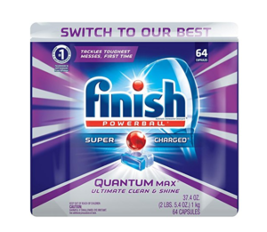 **HOT!!** Prime Day Deal: Finish Quantum Max Powerball, 64 Tabs, Dishwasher Tabs $8.96 (Or Less!!)