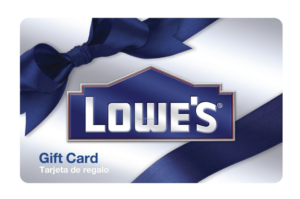 *Today Only!* Easy Deal! $100 Lowe's Gift Card Only $90!!!
