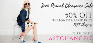 Extra 50% Off Clearance Items + FREE Shipping at Cents of Style!
