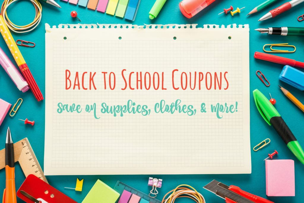 Back to School Coupons and Deals Save up to 70% or more while shopping for Back to Schools online. Get the latest and verified Back to School coupons, deals and discount codes for
