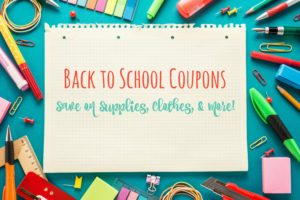 Back to School Coupons (Retail Edition): Save at Shoe Carnival, Kohl's, Gap, & More!