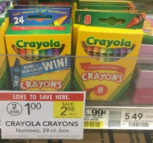 Back to School Deals at Publix: $0.50 Crayola Crayons, 3-Pack Elmer's Glue Sticks $0.82, and More!