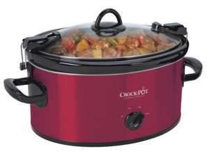 Crock-Pot 6-Quart Cook & Carry Portable Slow Cooker $20.41 (reg. $39.99)