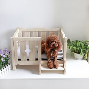 Petsfit Wooden Dog Bed $39.99 (reg. $99.99)!