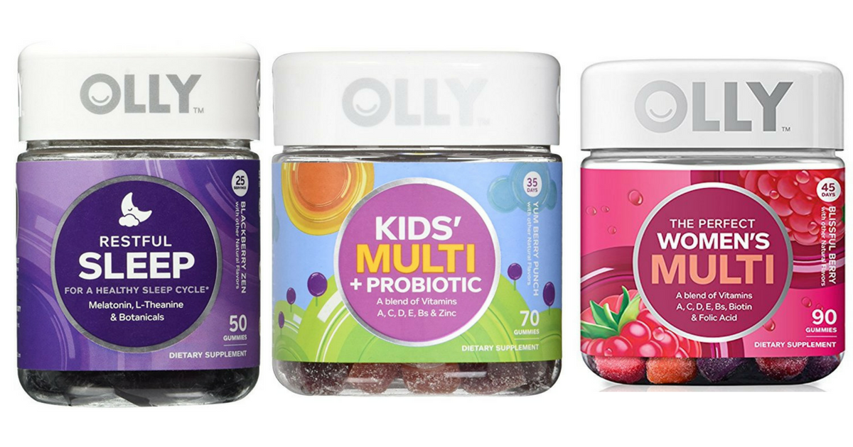 Great Deals On Olly Vitamins Shipped To Your Door Frugal Finds