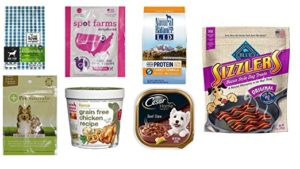 FREE Dog Food and Treats Sample Box (after credit)!