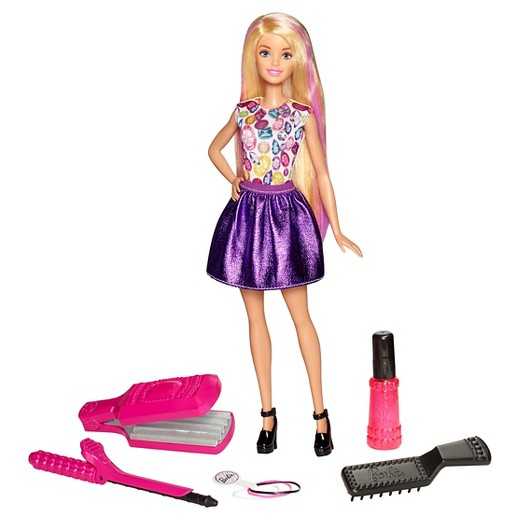 Barbie DIY Crimps And Curls Doll 1689 Use 25 Off Dolls Accessories Cartwheel Offer Deducts 422 Your RedCard To Save 5