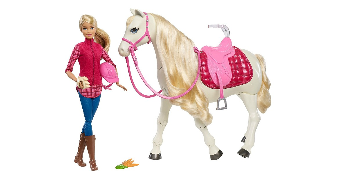 Black Friday 2017 Victoria Secret >> Amazon: Barbie Dream Horse Doll Play Set $59.99 (reg. $99.99) - Frugal Finds During Naptime