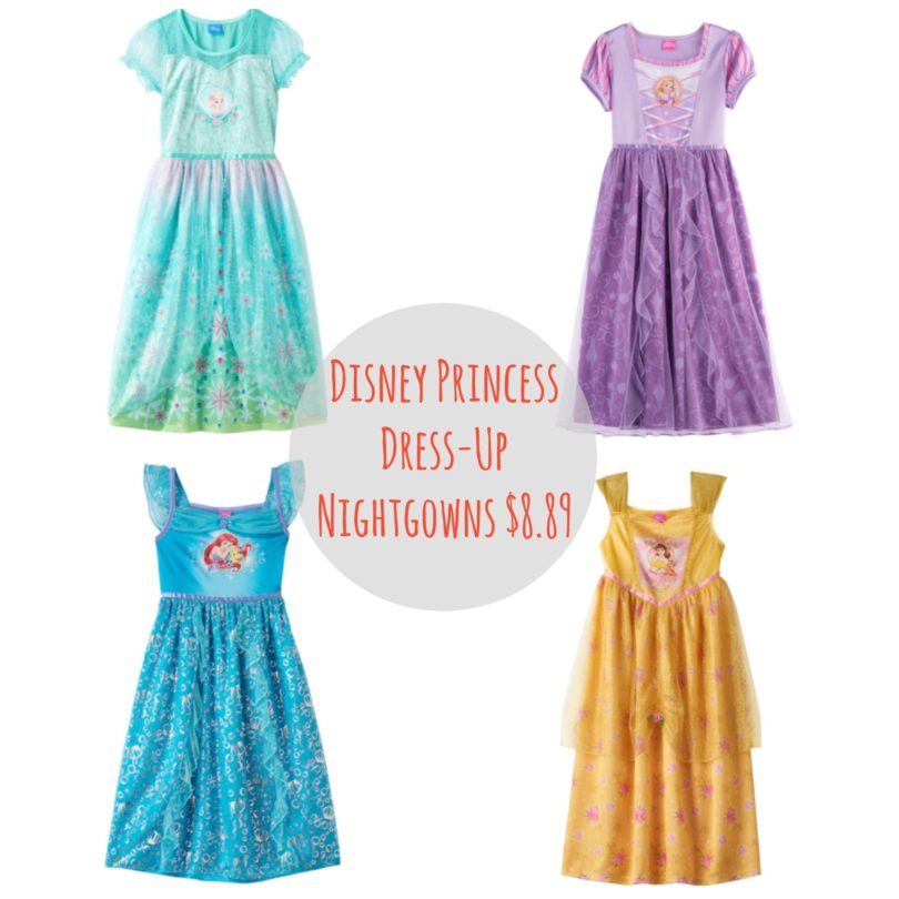 Disney Princess Dress-Up Nightgowns $8.89 (reg. $36) - Frugal Finds ...